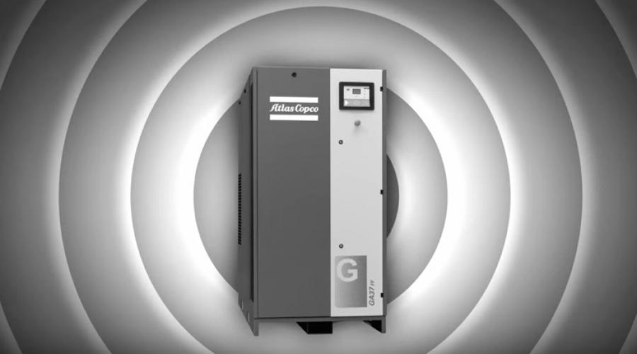Atlas Copco presents- The new GA 30+-45 range screw compressors